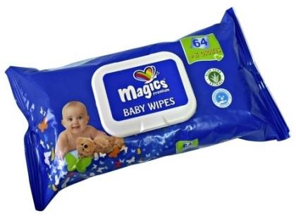 Osta Magics mähkmed ning saad kingituseks Magics Baby Wipes niisked beebisalvrätikud!